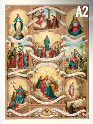 Je vous salue Marie – Salutation Angélique (A2)