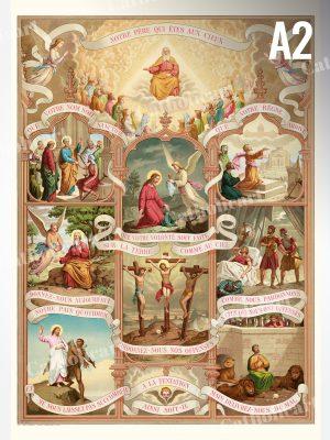 Notre Père – Oraison dominicale (A2)
