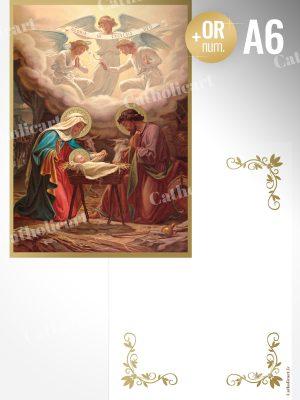 Carte de Voeux – Nativité (A6 Recto/Verso)