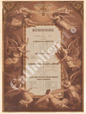 [CAT00] Sommaire (Catéchisme en images 1893)