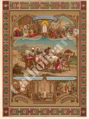[CAT01] Doctrine chrétienne (Catéchisme en images 1893)