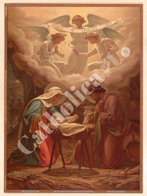 [CAT02B] Nativité (Catéchisme en images 1893)