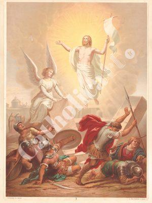 [CAT07] CREDO le 3e jour est ressuscité (Catéchisme en images 1893)