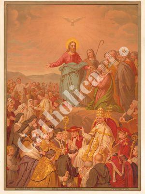 [CAT12] CREDO à la Sainte Eglise catholique (Catéchisme en images 1893)