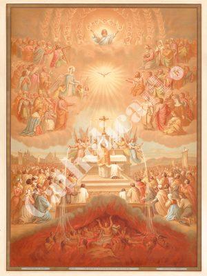 [CAT13] CREDO à la Communion des Saints (Catéchisme en images 1893)