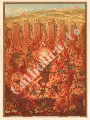 [CAT17] CREDO à la Vie Eternelle – Enfer (Catéchisme en images 1893)