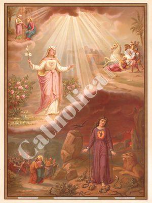 [CAT18] La Grâce (Catéchisme en images 1893)