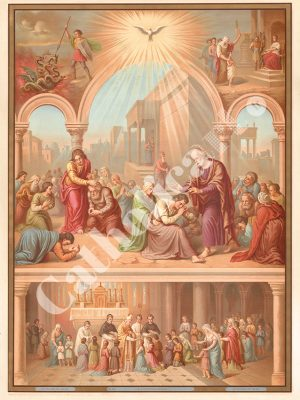 [CAT21] La Confirmation (Catéchisme en images 1893)