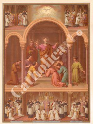 [CAT24] Ordre (Catéchisme en images 1893)
