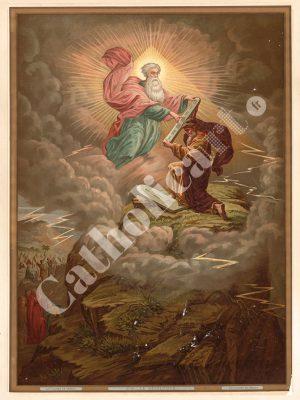 [CAT26] Decalogue (Catéchisme en images 1893)