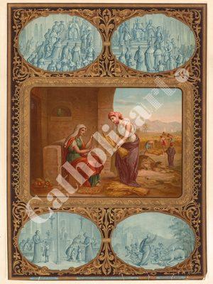 [CAT35] 4e Commandement : Père et Mère honoreras (Catéchisme en images 1893)
