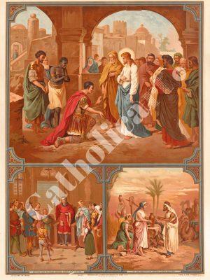 [CAT37] 4e Commandement : Père et Mère honoreras (Catéchisme en images 1893)