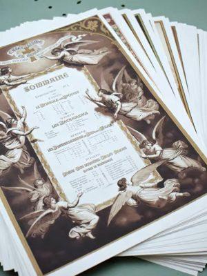 Coffret 68 planches du Catéchisme en Images 1893 (A3)