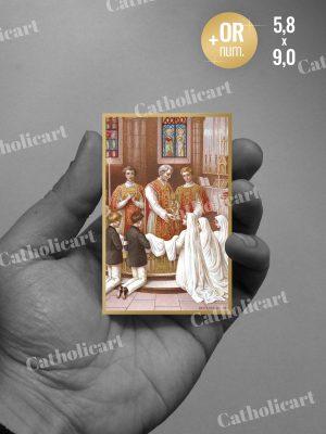 Carte Communion (58x90mm Recto/Verso)