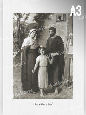 La Sainte Famille par Etienne Azambre (A3)
