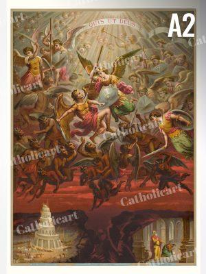 Saint Michel – QUIS UT DEUS (A2)
