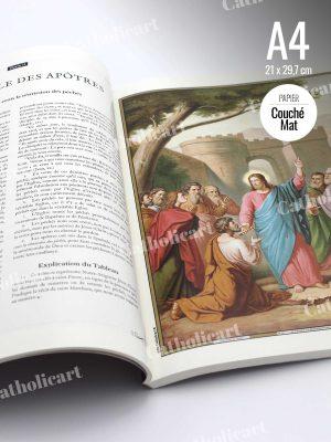 Livre broché 69 planches du Catéchisme en Images 1893 (A4)