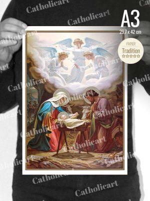 Catéchisme en Images #02B – La Nativité (A3)