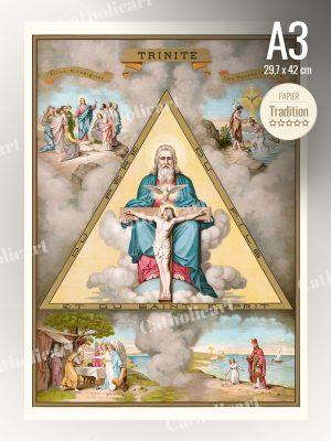Catéchisme en Images #02 – CREDO La Trinité (A3)