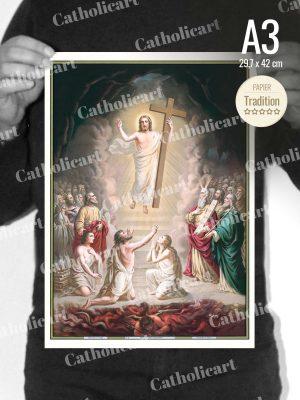 Catéchisme en Images #06 – Credo – Est descendu aux Enfers (A3)