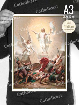 Catéchisme en Images #07 – Credo – Le troisième jour est ressuscité d'entre les morts (A3)