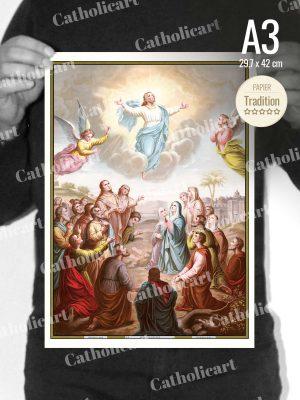 Catéchisme en Images #08 – Credo – … Est monté aux Cieux … (A3)