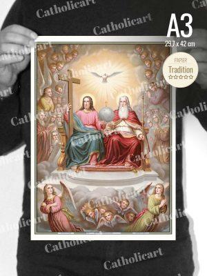 Catéchisme en Images #09 – Credo – … Est assis à la droite de Dieu le Père Tout Puissant … (A3)