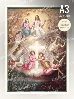 Catéchisme en Images #10 – Credo – … D'où Il Viendra juger les vivants et les morts … (A3)