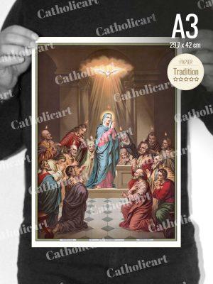 Catéchisme en Images #11 – Credo – … Je crois au Saint Esprit … (A3)