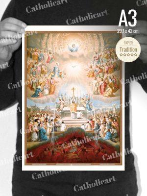 Catéchisme en Images #13 – Credo – … A la Communion des Saints … (A3)