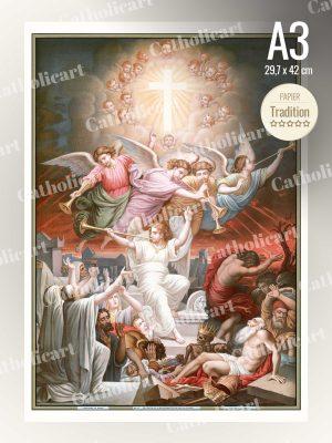 Catéchisme en Images #15 – Credo – … A la résurrection de la chair … (A3)