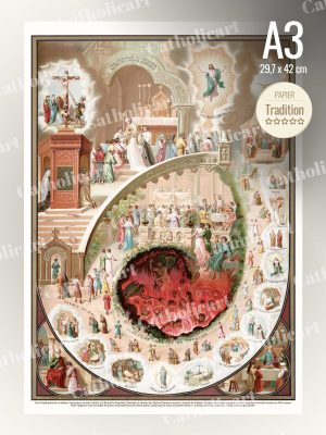 Catéchisme en Images #50 – Commandements de l'Eglise 3 & 4 (A3)