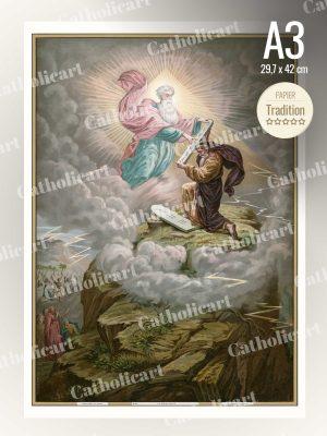 Catéchisme en Images #26 – Le décalogue (A3)